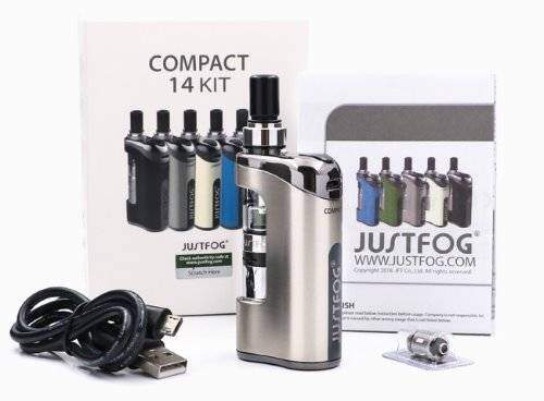 Packaging on the JustFog Compact 14