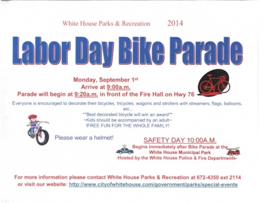 bike parade wh 2014