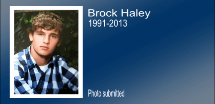 Brock Haley slider