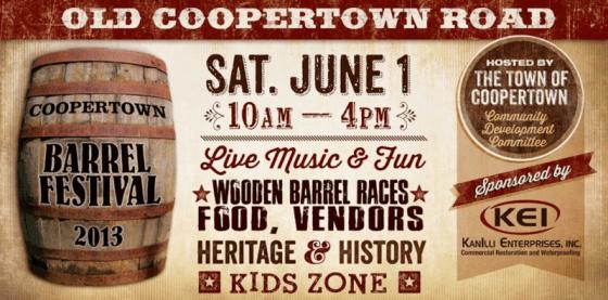 Coopertown barrel festival slider
