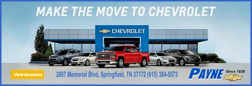 Payne chevrolet make the move ad 511