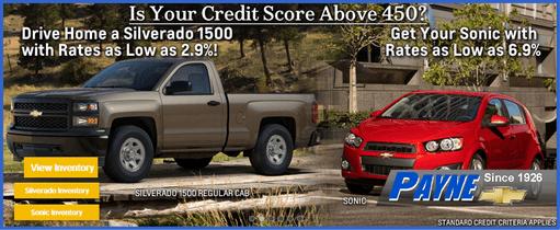 Payne credit score 511