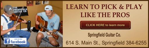 Springfield learn guitar 511