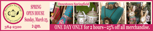 Tea Shop Spring Open house 511a