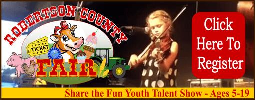 fair talent show banner ad