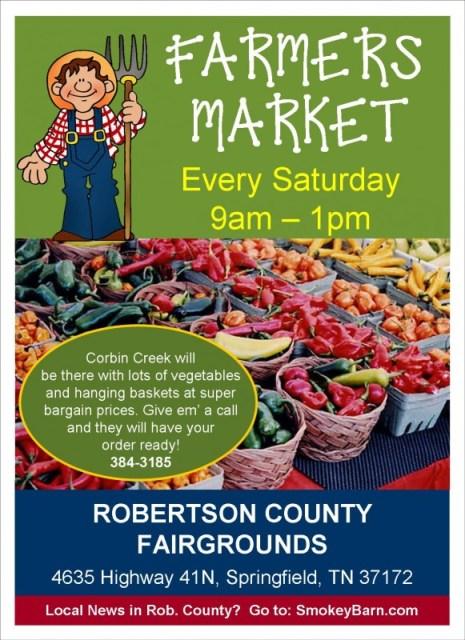 farmers market flyer