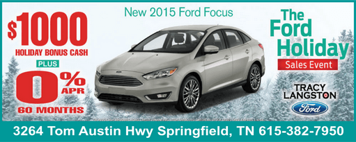 ford holiday focus 511
