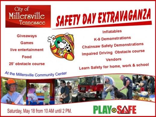 Millersville Safety Day flyer