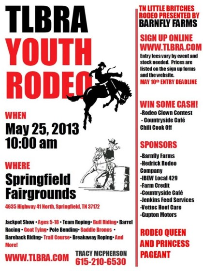 rodeo flyer may 25