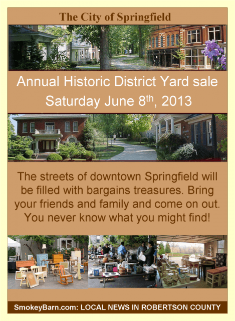 Historic yardsale 2013
