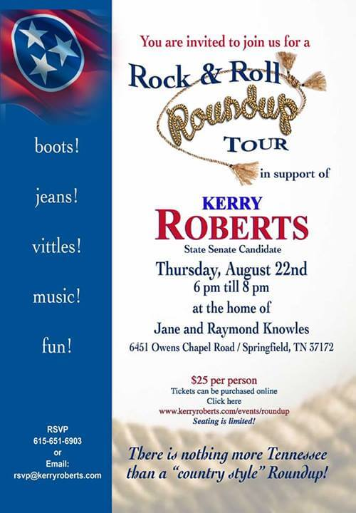 Kerry Roberts Roundup