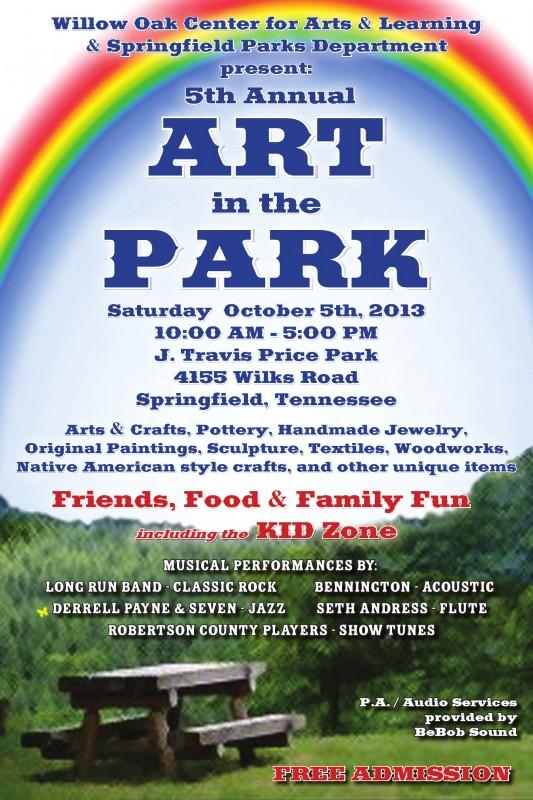 art park flyer