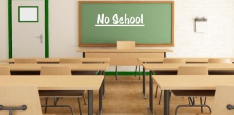 no school slider