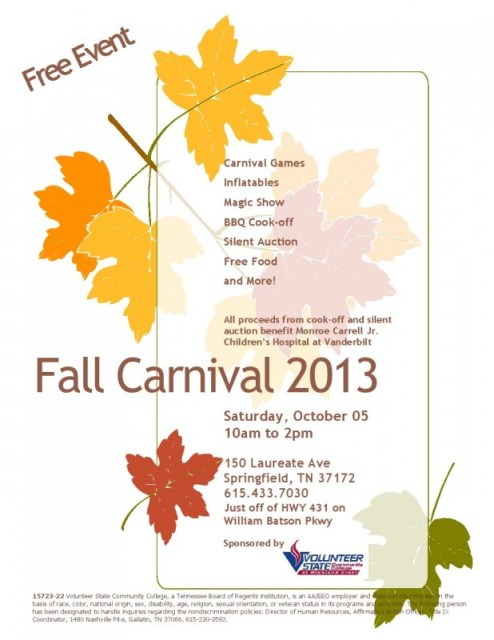 HC fall carnival