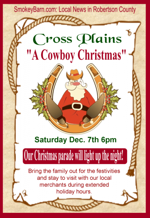 Cross Plains parade 2013 flyer