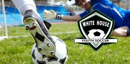 White house youth soccer sign up slider