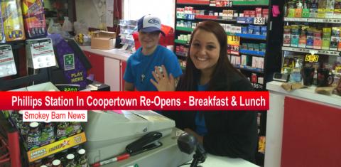 phllips station reopens coopertown slider