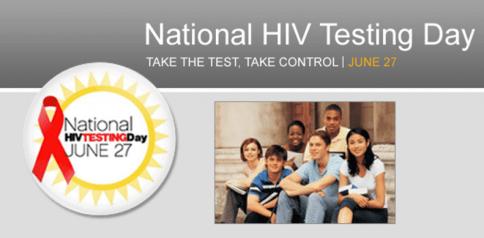 hiv free testing day a
