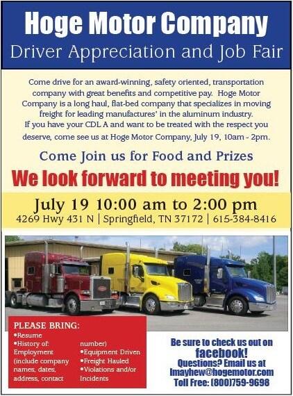 Hoge job fair