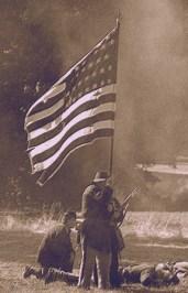 civil war photo sepia