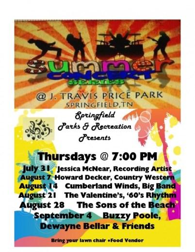 full summer concert flyer 2014