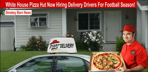 pizza hut drivers needed slider