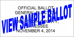 view sample ballot