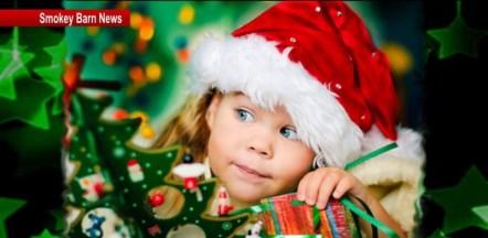 Christmas girl toys slider