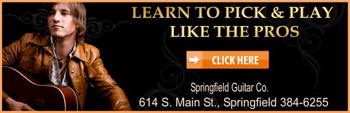 Springfield Guitar gold guitar 511