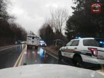 Tennessee Bureau of Investigation special crime scene unit arrives.