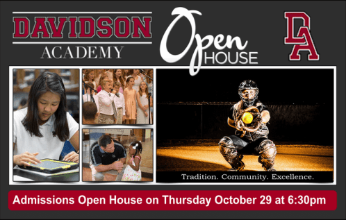 Open House Flyer ad Oct 29 a