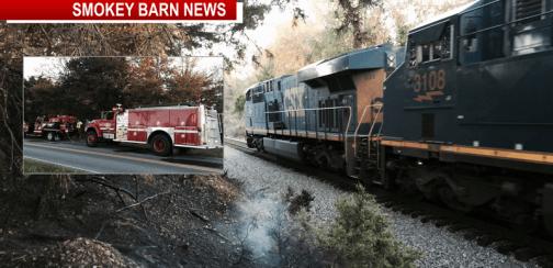train track fire slider