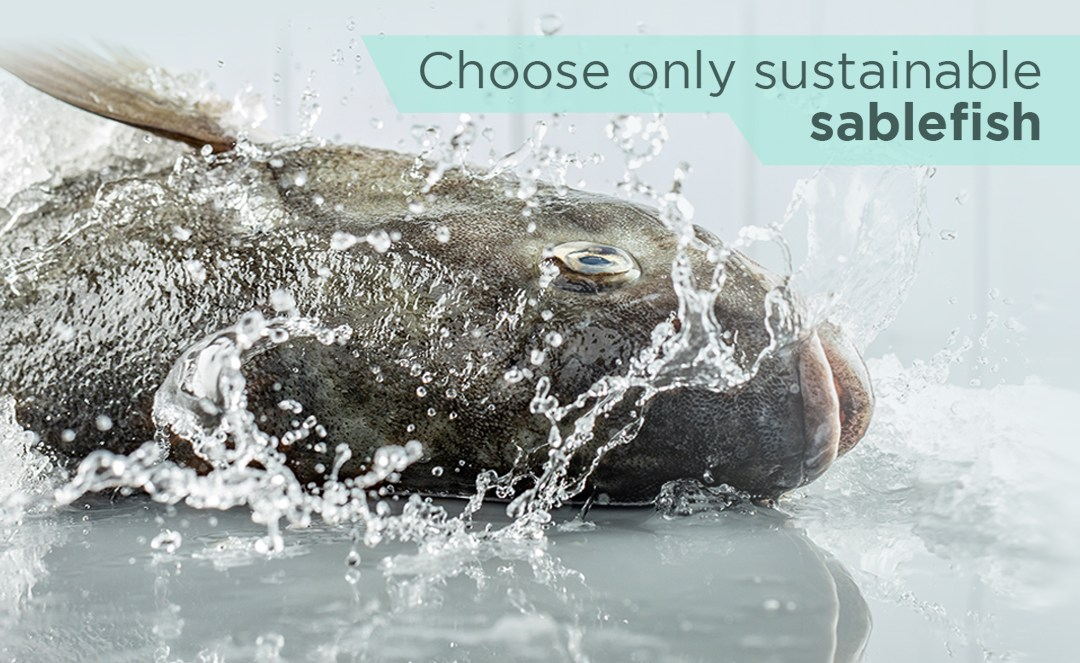 Choose only sustainable sablefish