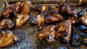 Wings with BBQ Sauce!