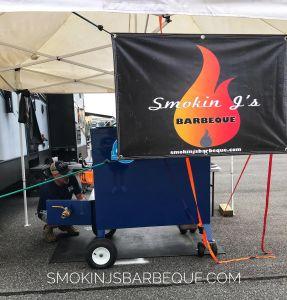 Douglas BBQ Festival Smokin J's Barbeque Banner