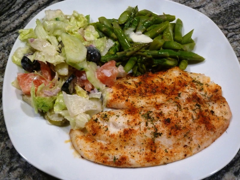 Grilled Creole Tilapia