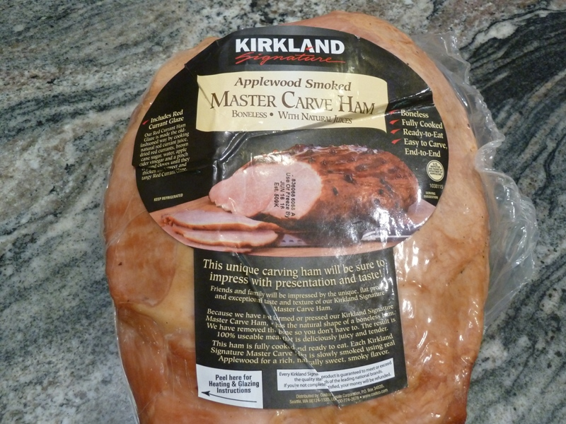 how to cook costco spiral ham