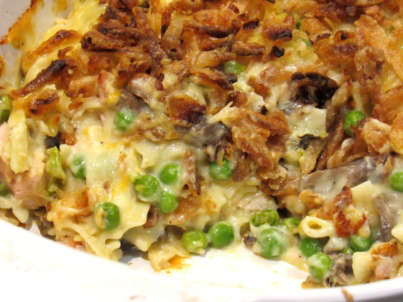 Smoked Turkey Breast Noodle Casserole