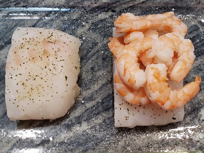 Cod and Shrimp Recipe build 1