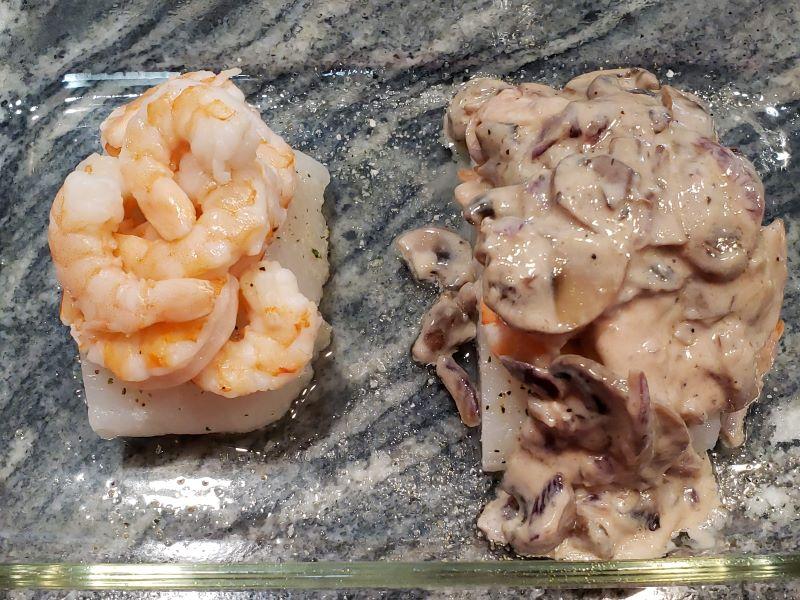Cod and Shrimp Recipe build 2