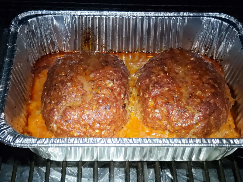Smoked Meatloaves