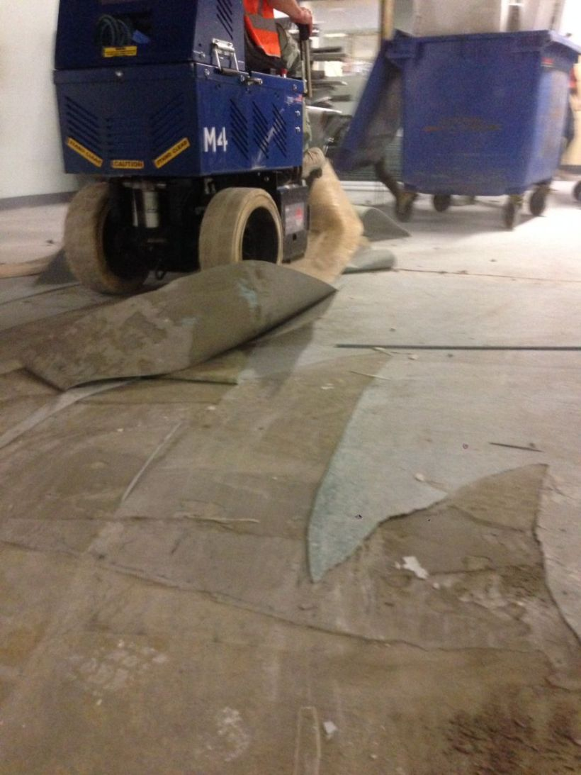 How to remove commercial carpet from concrete floor www tile vinyl coating removal smooth stone dailygadgetfo Choice Image