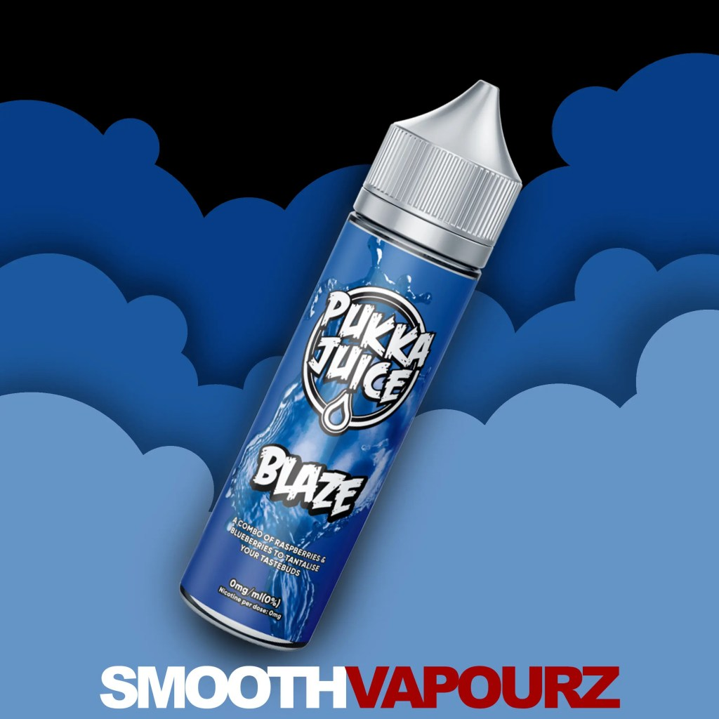 Pukka Juice - Blaze - 50ml vape juice - Smooth Vapourz