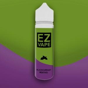 EZ Vape - 50ml - Blackcurrant Menthol - 3 for £10 - Smooth vapourz