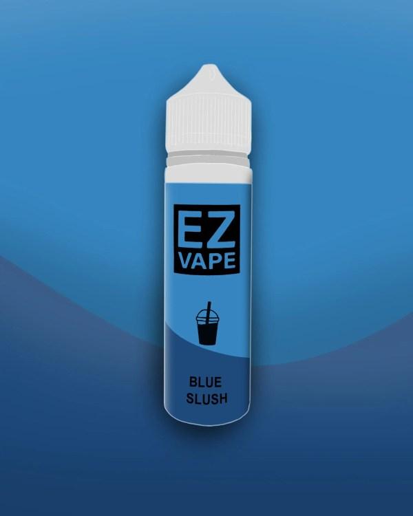 EZ Vape - 50ml - Blue Slush - 3 for £10 - Smooth vapourz
