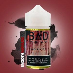 Bad Blood Bad Drip 50ml e-liquid vape juice - smooth vapourz