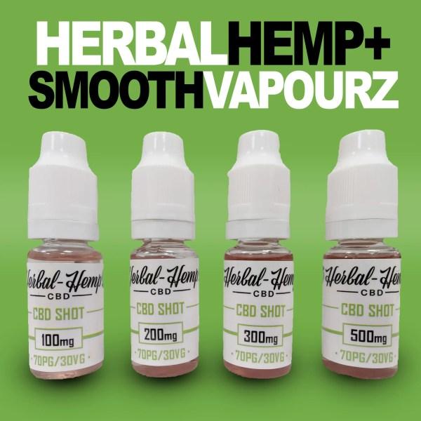Herbal Hemp CBD Vape Shots
