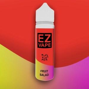 EZ Vape - 50ml - Fruit Salad - 3 for £10 - Smooth vapourz