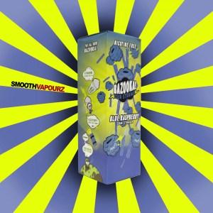 Bazooka - Sour Straws - Blue Raspberry - 100ml E-liquid - Smooth Vapourz