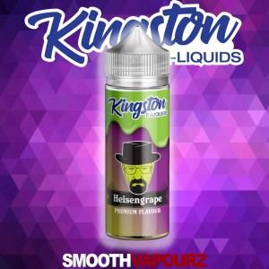 kingston heisengrape 100ml eliquid smooth vapourz vape juice